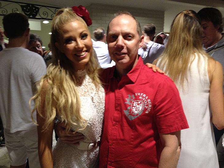 Sigrid Bernson - ett proffs när det gäller dans. Stig har redan anmält sig till nästa säsong av Let's Dance...